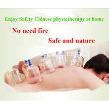 Home use vacuum magnetic 12 cups massage cupping