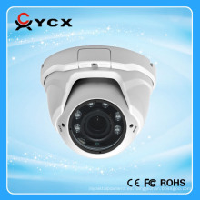 Alarma de detección de movimiento 1.3 mp buena cúpula de metal interior al aire libre uso hd red ip cctv cámara