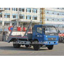 Dongfeng DLK 5m3 swing arm garbage truck for sale