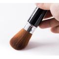 واحد الاصطناعية الشعر البني الأسود الطويق كابوكي فرشاة التجميل