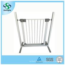 Puerta del perro de la puerta del juego del bebé de la puerta de la seguridad del bebé del metal (SH-D4)