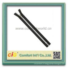 Haute qualité personnalisé longue chaîne en nylon à glissière