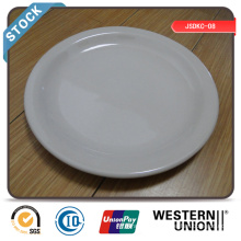 "Cheap 9"" Dinner Plate (narrow edge) in Stock"