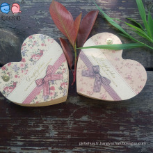 2016 Promotion Cadeaux Forme du coeur Petit bloc-notes en papier Kraft