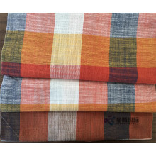 Colorful+Plaid+Cotton+Blend+Bamboo+Fiber+Shirt+Fabric