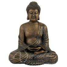 Fuente de China al aire libre gran tamaño de metal artesanía de bronce de bronce de Buda para la venta