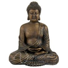 Chine fournir en plein air grand bouddhisme en bronze de la taille de la vie de l'artisanat en métal à vendre