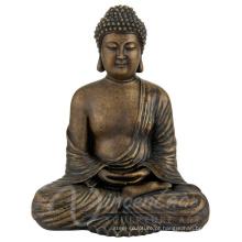 China fornecer ao ar livre grande metal artesanato bronze em tamanho real buddha for sale