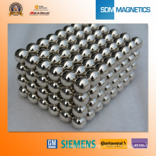 Silver Plating Ball Magnet