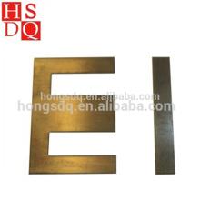 Noyau de transformateur laminé à froid non poreux de haute qualité de bas prix EI