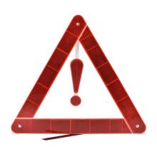 Triangle d'avertissement en matériau réfléchissant
