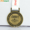 Custom Award Medaljer Med Custom Ribbon