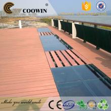 Compósitos de madeira oco wpc decking boards
