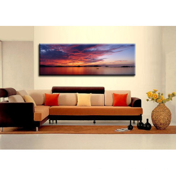 Pintura de parede de alta qualidade Pôr do sol Sunset Picture
