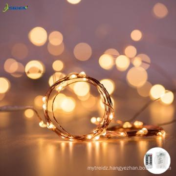 Osiden copper wire 8 modes 3AA battery 5M50LED 10M100LED 20M200LED indoor lights decorations navidad christmas decor led string