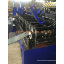 Matériel d'acier Supermarket Goods Display Back Hole Roll Machine de production de formage Myanmar
