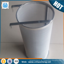 "Wholesale home brew 304 stainless steel 6""*14"" 4""*10"" 300 micron hop filter basket/hop spider"