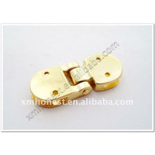 zinc alloy hinge for bags and purse with screws