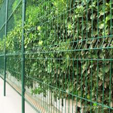 PVC-überzogener Gartenzaun und Zaunpfosten