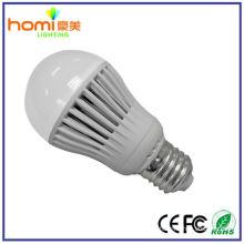 5W B22, plástica lâmpada de bulbo LED E27