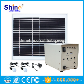 10W Precio de fábrica Mobile Charger Lighting Inicio Sistemas solares