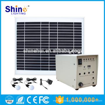 10W preço de fábrica Mobile Charger iluminação Home Solar Systems
