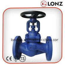 GS-C25 Wcb DIN Flanged Bellow Seal Globe Valve