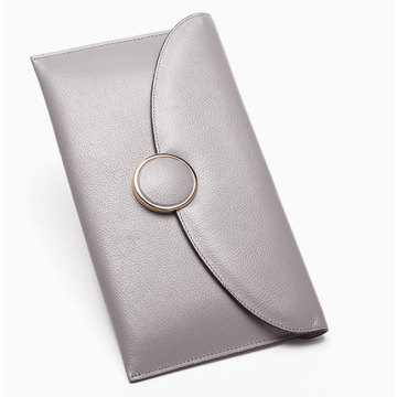 Unique Designer PU Leather Clutch Wristlet Väska