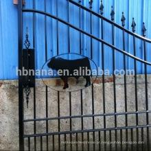venda quente cerca de alumínio / portão de cerca de aço com animais