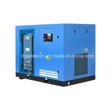 Compresseur d'air à vis stationnaire à lubrification contrôlée par inverseur (KE110-08INV)
