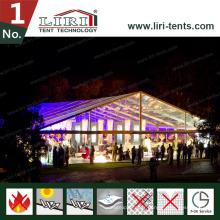 Tente debout libre extérieure avec la couverture claire de toit de PVC pour la partie
