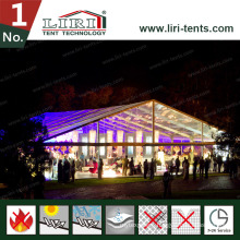Outdoor Free Standing Tent with Clear PVC Roof Cover for Party