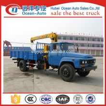 Dongfeng 4ton XCMG crane with truck for sale