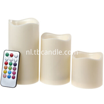 Mini LED candles with battery