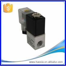 Válvula solenoide de gas de acción directa de China con material de aluminio 2V025-08