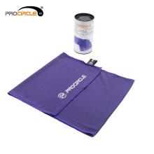 Serviette de microfibre de glace de yoga de tissus de gymnase d'usine d'OEM usine