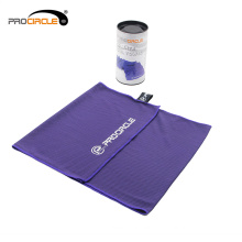 OEM Factory Gym Fitness Fabrics Yoga Ice Microfiber Towel