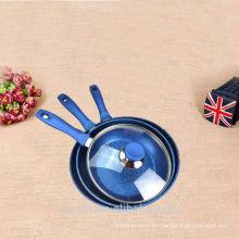 2015 nuevos utensilios de cocina baratos de esmalte antiadherente