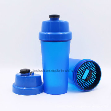 700ml Plastic Protein Shaker bottle with Storage and Spider Spring (KL-7026)