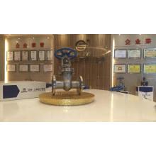 Garantizar 10 años de calidad superior válvula de compuerta de calefacción api válvula de compuerta con caja de cambios