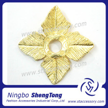 Fashion Gold Jewelry Pendant Leave charms