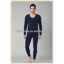 Горячие сексуальные вязание бесшовные мужчины нижнее белье длинные джон, сексуальные мужчины моды пижамы