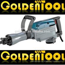 1500W de potencia de roca de hormigón portátil de rotura de la demolición de mano eléctrica 65mm Jack Hammer GW8078