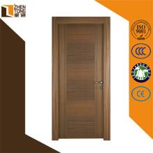 Bisagra ajustable buena calidad agradable puerta mdf, puerta de madera del baño, pvc mejor diseño de puerta de madera para el interior