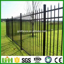 Высококачественный порошковый порошковый цинковый стальной садовый забор из Anping Manufacture