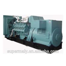 Generador diesel 800KW refrigerado por agua grande de la fuente de alimentación por el motor del cummins
