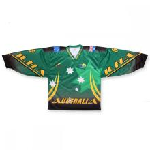 OEM custom reversible team canada ice hockey jerseys