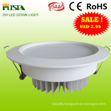LED Ceiling Down Light for Meeting Room (ST-WLS-Y11-3W)
