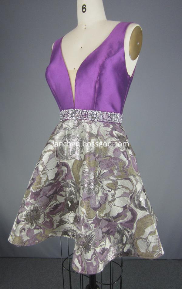 beading beads dress