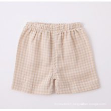 Pantalon court bébé en coton biologique